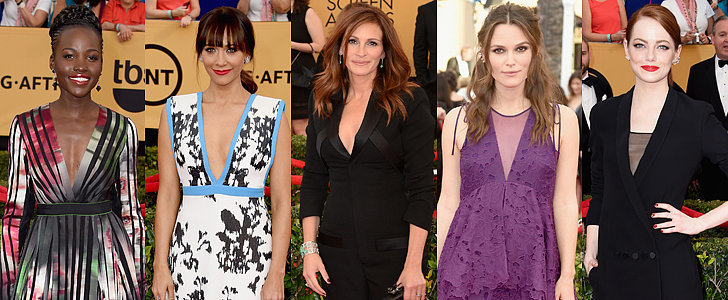 Which Star Was Best Dressed at the SAG Awards?