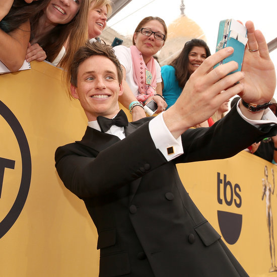 Eddie Redmayne at the SAG Awards 2015
