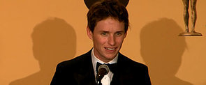 Eddie Redmayne Talks About His Tearful Time at the SAG Awards