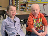 First-Grader Shaves Head in Solidarity for Friend with Cancer (VIDEO)