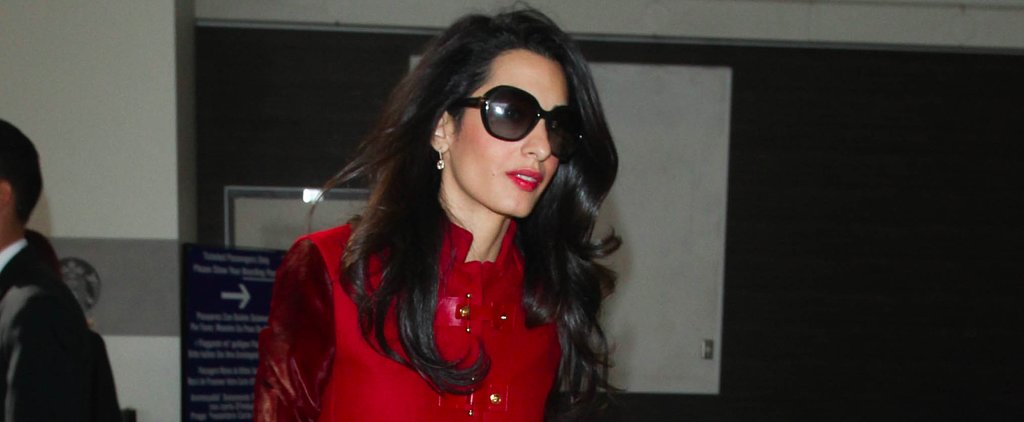 Amal Alamuddin Would Never Wear Sweatpants to the Airport