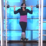 Pull-Up Dancer on The Ellen DeGeneres Show