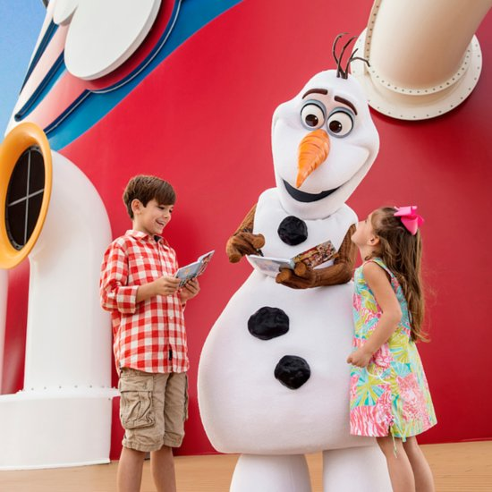 Land of Frozen Comes to Disney Cruise Line