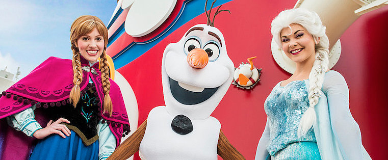 Parents, Brace Yourselves: The Land of Frozen Is Coming to Disney Cruises