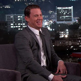 "Channing Tatum Demonstrates His Daughter Everly's ""Poop Face"" For Jimmy Kimmel"