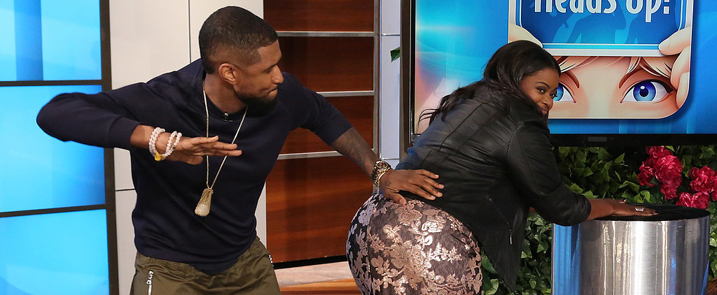Octavia Spencer and Usher Play a Naughty Game of Heads Up on Ellen