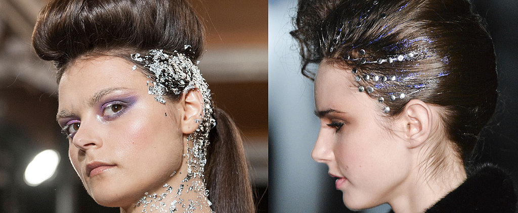 '90s Girls, Get Psyched: Hair Glitter Is Making a Chic Comeback