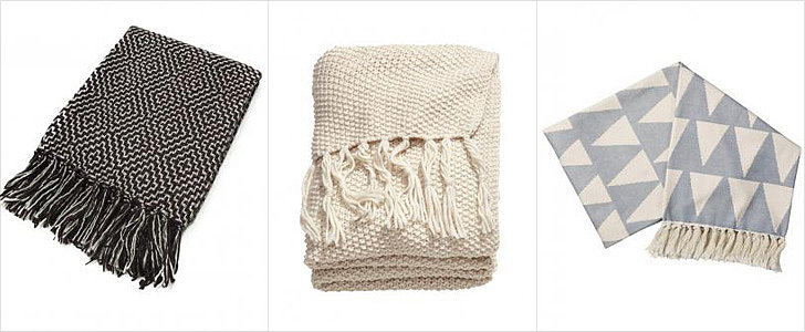 Bundle Up For Snowmageddon With These Cozy Throws