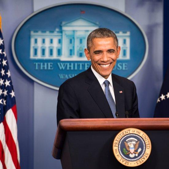 "Barack Obama Singing ""Uptown Funk"" Lip Dub"