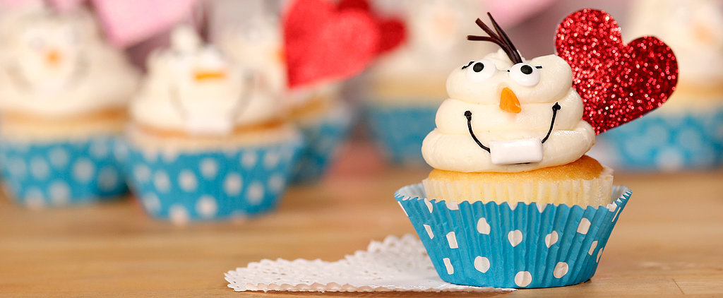 Olaf Cupcakes Will Melt Any Frozen Fan's Heart