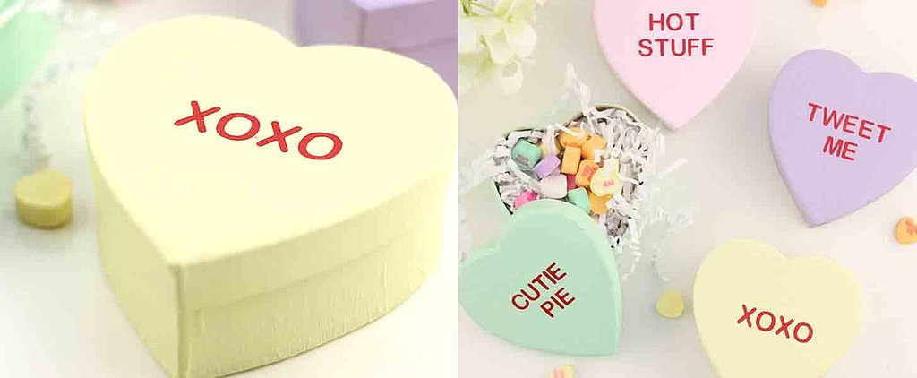 Spread the Love With These Adorable DIY Conversation Heart Boxes