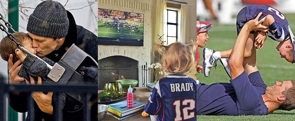 Forget the Super Bowl! Tom Brady Already Won the Prize For Cutest Family