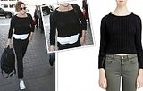 All We Have To Say Is Kristen Stewart's Cute Cropped Sweater Is Only $30