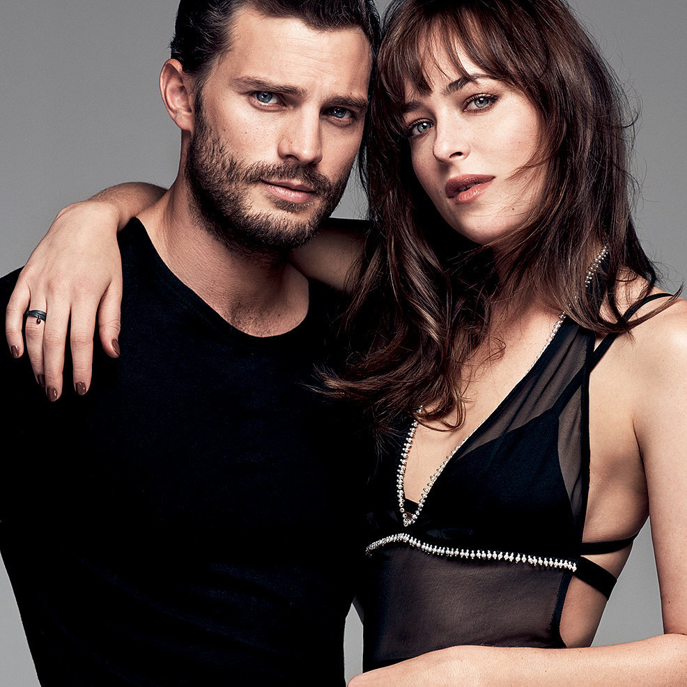 Jamie Dornan and Dakota Johnson in Glamour March 2015 ...