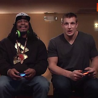 Conan O'Brien Plays Mortal Kombat With Marshawn Lynch