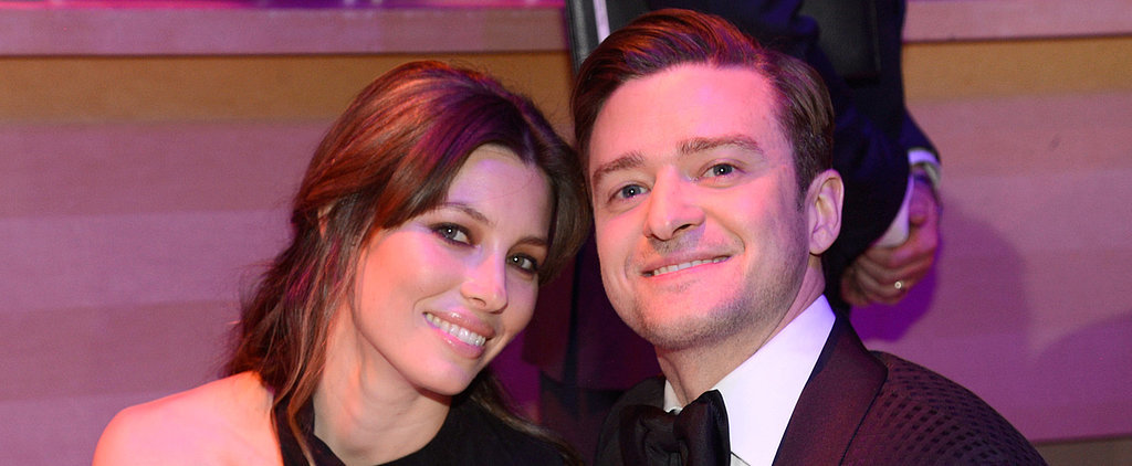 Justin Timberlake Kisses Jessica Biel's Baby Bump — See the Cute Picture!