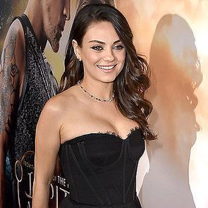 Mila Kunis Post-Baby Appearance Jupiter Ascending Premiere