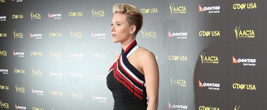 Scarlett Johansson Just Made a Fierce Red Carpet Comeback