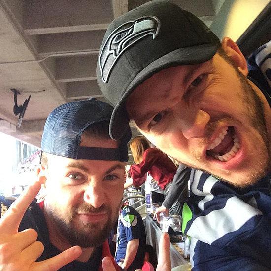 Chris Evans and Chris Pratt's 2015 Super Bowl Bet