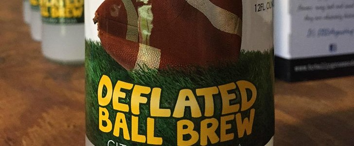 Deflategate Inspired a New England Beverage Company to Create a Flat Soda