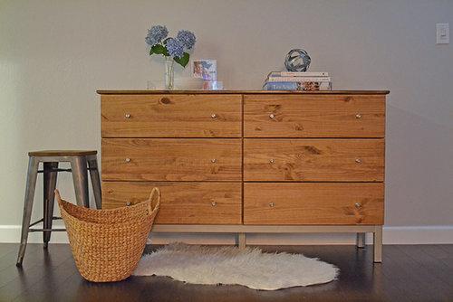 POPSUGAR editor Lauren Turner made a basic Ikea dresser look like her dream Room & Board dresser.