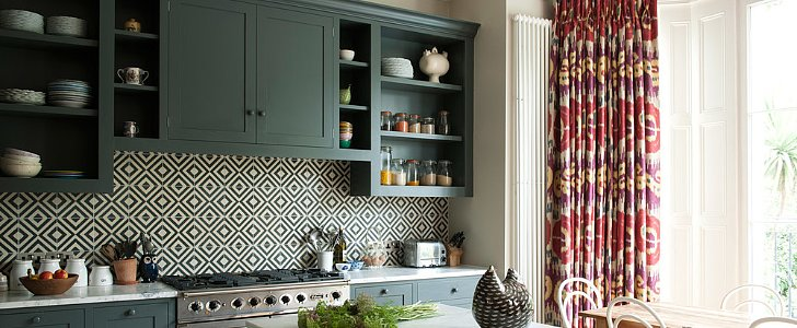 Kitchen Backsplashes Worth Pinning