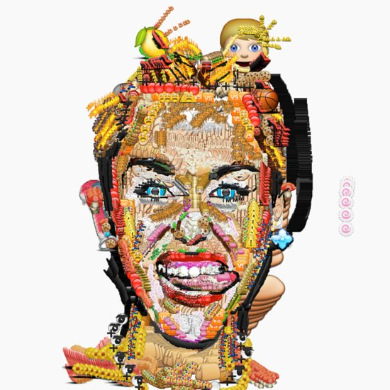 Prepare to Trip Out Over These Emoji Portraits