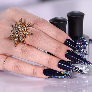 Those Nails, Though! A Swarovski Crystal Manicure You Can Repli