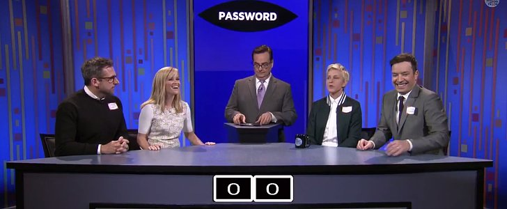 Jimmy Fallon Enlists Famous Friends For a Priceless Game of Password