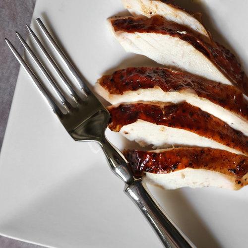 Roast Chicken With Brandy-Vanilla Butter