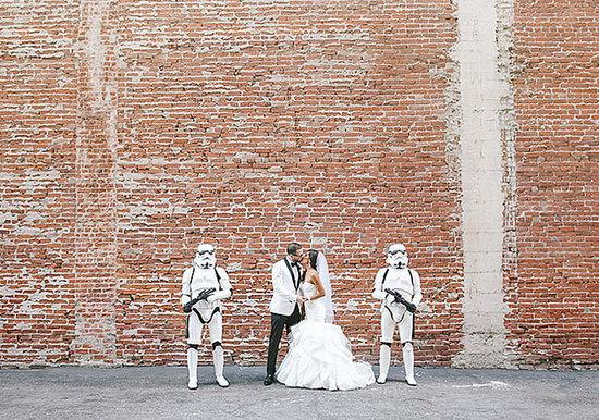 What an Epic Star Wars Wedding Looks Like