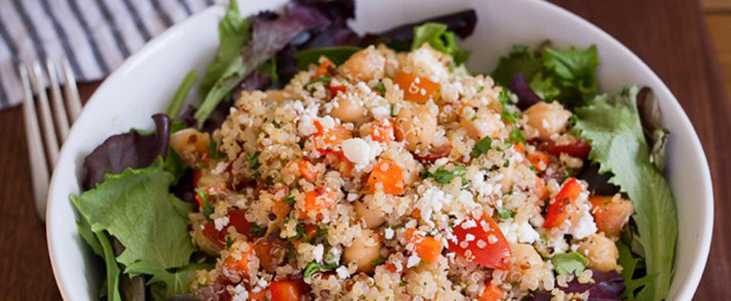 This Easy Quinoa Chickpea Salad Is Your New Make-Ahead Lunch