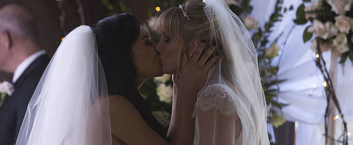 Even If You Don't Watch Glee, Brittany and Santana's Wedding Will Warm Your Heart