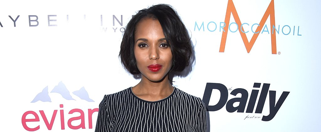 Kerry Washington Tweets a Response to InStyle Cover Criticisms