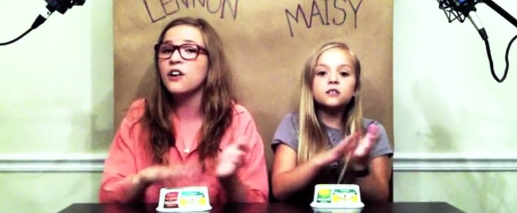 "Relive Lennon and Maisy's First Viral Hit, a Cover of ""Call Your Girlfriend"""