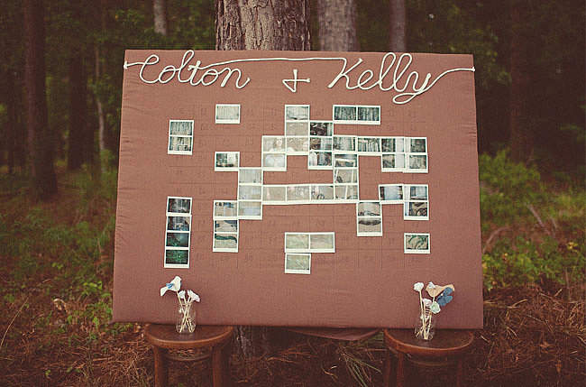 It's cool and collaborative! Source: OneLovePhoto via Green Wedding Shoes
