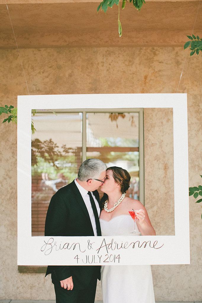 Polaroid Frame Photo Booth