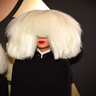 Sia's Hair at the Grammy Awards 2015