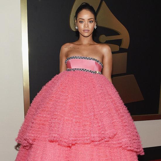 Rihanna's Dress at the 2015 Grammy Awards
