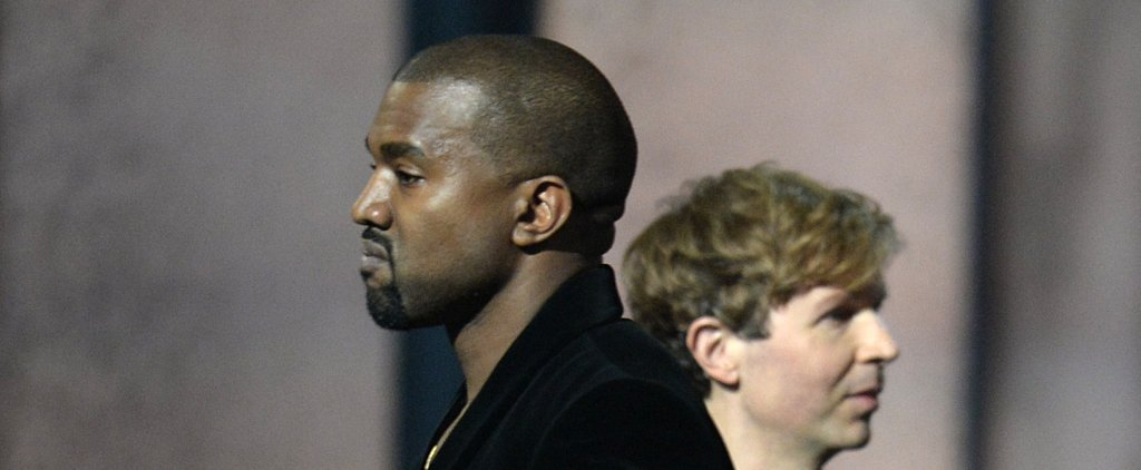 Kanye Re-Creates His Infamous VMAs Moment, This Time With Beck