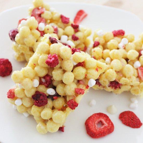Kix and Berries Marshmallow Treat Recipe
