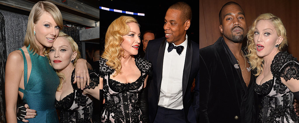 While You Were Talking About Her Butt, Madonna Mingled With Stars at the Grammys