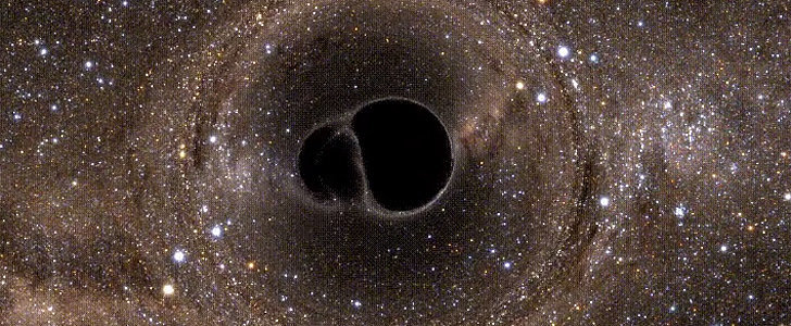 A Black Hole GIF That's Utterly Mesmerizing