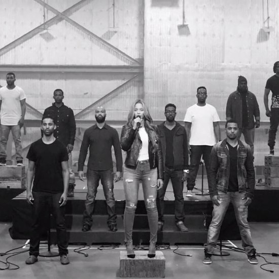 Behind-the-Scenes Footage of Beyoncé's Grammys Performance Will Give You Goosebumps