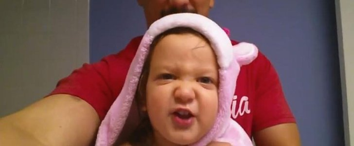This Toddler's Angry, Heavy-Metal Version of the ABCs Is the Cutest Thing You'll See Today
