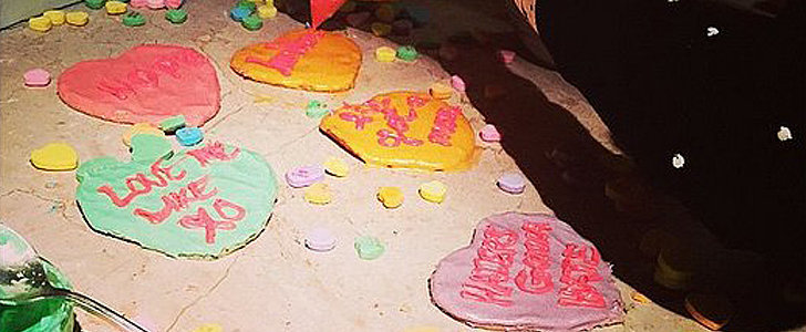 Steal This Idea: Blake Lively's Quirky-Cute Conversation Heart Cookies