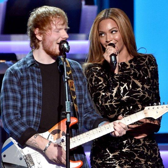 Beyoncé and Ed Sheeran Perform For Stevie Wonder
