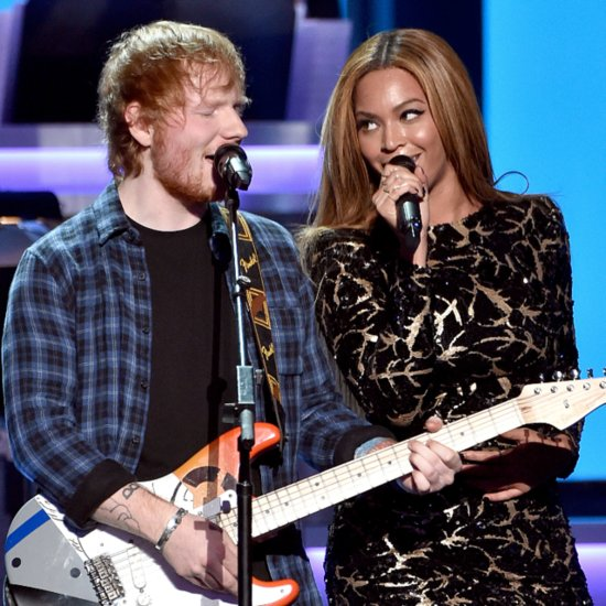 Beyoncé and Ed Sheeran Take the Stage For a Special Tribute to Stevie Wonder