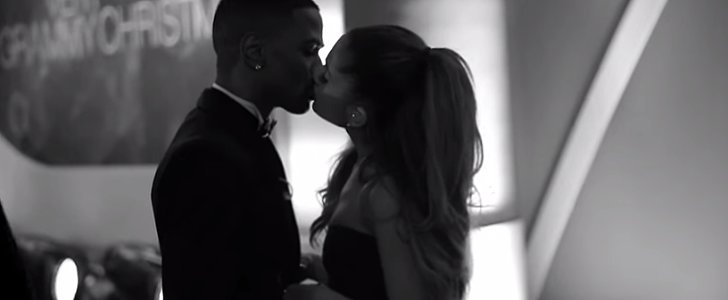 Ariana Grande and Big Sean Share a Sweet Kiss in His New Video