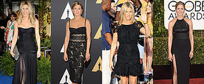 Jennifer Aniston Paints the Town Black: 46 Noteworthy Noir Looks